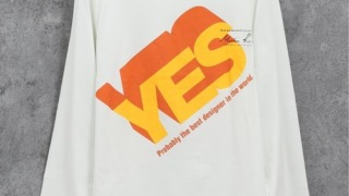 道枝駿佑 なにわ男子 まだアプデしてないの 衣装 Martin Rose YES Tシャツ