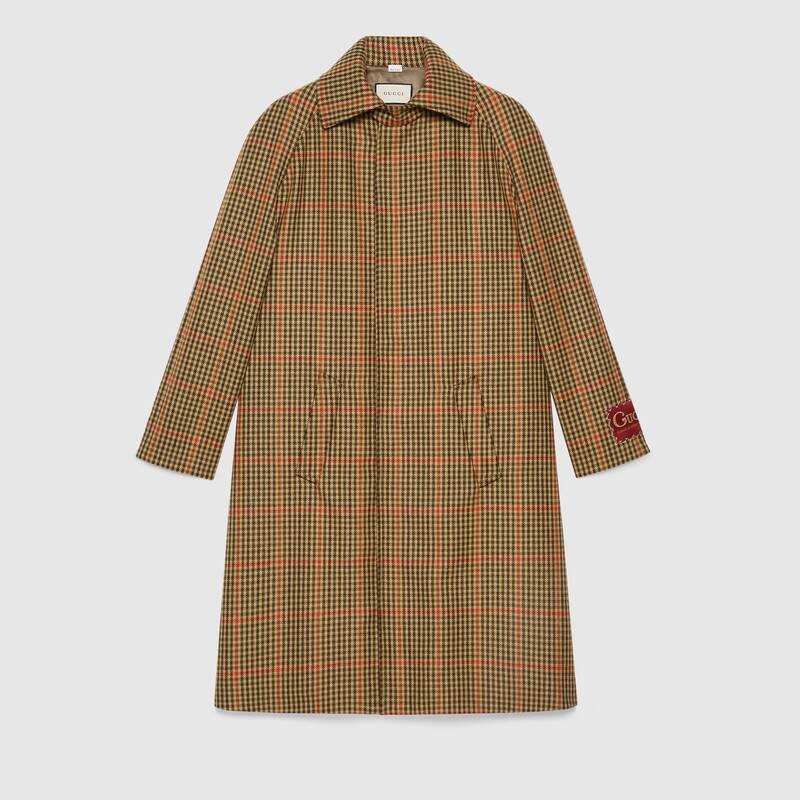 玉森裕太 ボス恋 衣装  コート 最終回 GUCCI ラベル付き チェック ウール コート