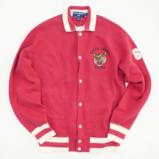 相葉雅紀 VS魂 衣装 3/25 POLO SPORTS】 TIGER FLEECE VARSITY JACKET RALPH LAUREN TIGER  スタジャン