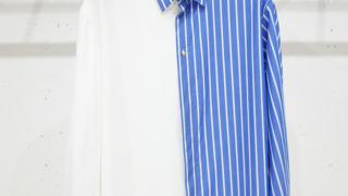 伊野尾慧  メレンゲの気持ち 衣装 CULLNI STRIPE SWITCHING SH ストライプ柄 シャツ