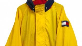 相葉雅紀 VS魂 衣装 4/8 90s TOMMY HILFIGER Nylon Sailing Jacket