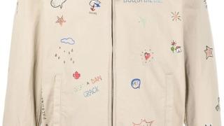 深澤辰哉 SnowMan 衣装 ラヴィット 2021/4/2 Dsquared2 doodle-embellished jacket