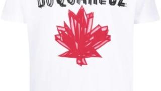 ラウール Snow Man 衣装 ラヴィット 2021/4/2 Dsquared2 D2 leaf print T-shirt