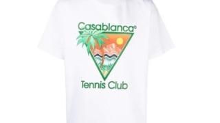 八乙女光  衣装 ネガティブファイター アー写 8人 Casablanca ロゴ グラフィック Tシャツ