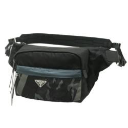 二宮和也 私物 バッグ ジャにのちゃんねる ジャにのチャンネル PRADA BLU CAMOUFLAGE ARDESIA ショルダーバッグ