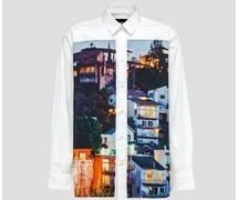 深澤辰哉  それスノ 衣装 それSnowManにやらせてください MSGM SETH ARMSTRONG アートプリントシャツ