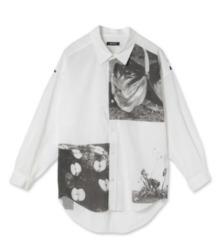 山田涼介 私服 ジャにのちゃんねる CHRISTIAN DADA(クリスチャン ダダ) Cotton Lawn Print Shirt