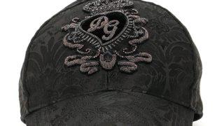 猪狩蒼弥 私物 キャップ DOLCE & GABBANA DG PATCH BASEBALL CAP