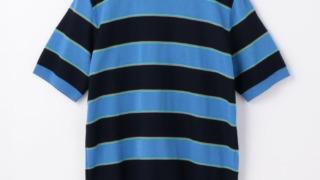 櫻井翔 SHOWチャンネル 衣装 6/26 TOMORROWLAND コットン レトロボーダー ニットTシャツ