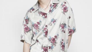 高橋海人 Myojo   2021年8月号 衣装 VANQUISH PLANTS APLENTY BOX WIDE SHIRT[ 花柄 シャツ