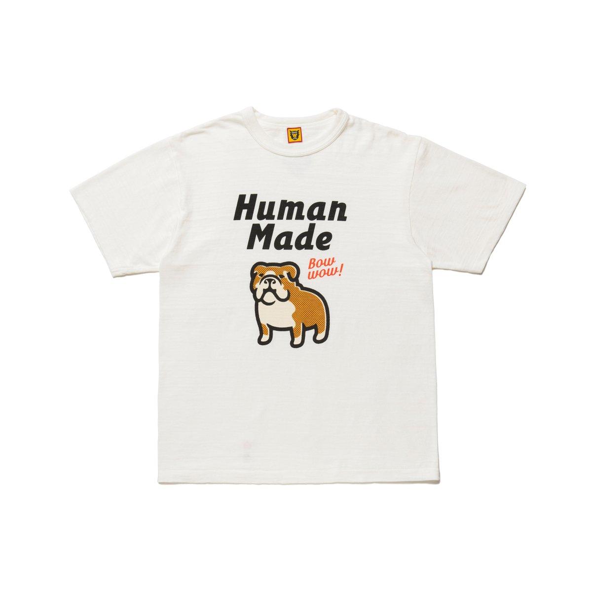 有岡大貴 ヒルナンデス 衣装 6/15 HUMAN MADE Bow Wow Tシャツ
