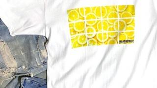 ラウール ハニーレモンソーダ 衣装 月刊ザテレビジョン 2021年8月号 BLACKFRUIT TWELVE PANEL LEMON TEE