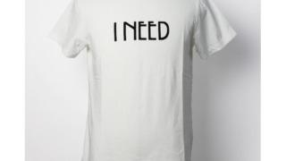 北山宏光 キスブサ 衣装 レミレリーフ / REMI RELIEF / LW 加工 Tシャツ / I NEED