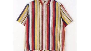 二宮和也 ニノさん 衣装 TOMORROWLAND SOULEIADO インドコットン ショートスリーブシャツ