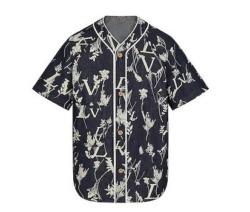 七五三掛龍也 私服 ルイヴィトン☆LVリーフデニムベースボールシャツ Travis Japan