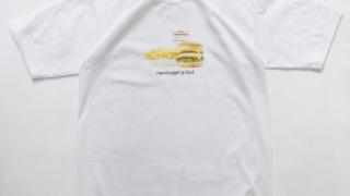 有岡大貴 ヒルナンデス 衣装 9/21 Hamburger is God Tee -Heavy oz-