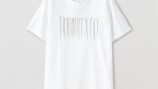 平野紫耀 衣装 かぐや様は告らせたい Tシャツ 【doublet】MEN CHAIN FRINGE EMBROIDERY T-SHIRT