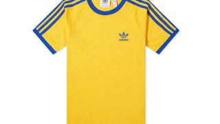 松村北斗 私服 SixTONES  adidas Originals/3 STRIPES TEE Tシャツ