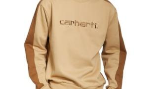 渡辺翔太 Snow Man 衣装 mini 2021年11月号 Carhartt WIP Tonare Sweatshirt (Dusty H Brown / Hamilton Brown / Hamilton Brown) スウェット