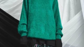 菊池風磨 ニノさん 衣装 2021/10/10 MAISON SPECIAL 《ユニセックスアイテム》ヴィヴィッドカラーエアリーモヘアプライムオーバーニットプルオーバー