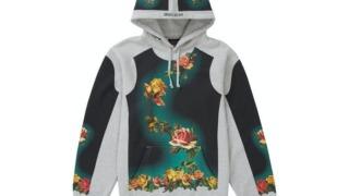 七五三掛龍也 私服 Travis Japan Supreme x Jean Paul Gaultier Floral Print Hooded Sweatshirt バラ柄 花柄 パーカー